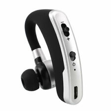 Cell Phone Accessory Stereo Bluetooth Headset Wireless Earphone Silver