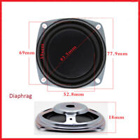 1pcs 77.9mm Bass Radiator Woofer Speaker Vibrating Membrane Rubber diaphragm