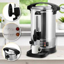 Glühweinkocher mit Zapfhahn Thermostat Edelstahl 8L Einkochautomat Wasserkocher