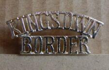 kings own Border Regiment Shoulder Title  Staybrite 1980's  b3