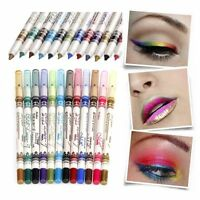Menow 12 Color EyeLiner Glitter Lip Pencil Shimmer Pen Makeup Set Eyeshadow