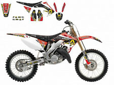 BLACKBIRD HONDA CR 250 2005 KIT GRAFICHE COMPLETO ARMA ENERGY GRAPHICS NERO