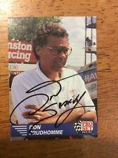 Don Snake Prudhomme Autographed NHRA Pro Set Card