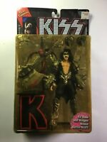 "1997 Mc Farlane Toys ""KISS"" Gene Simmons,Ultra Action Figure, ""K"" Stand,7"",New!"