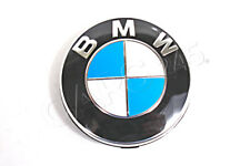 Genuine BMW Wheel Center Cap With Chrome Ring 36136783536