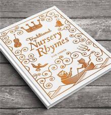 Personalised Traditional Nursery Rhymes Book Hardback Childrens Gift Christening