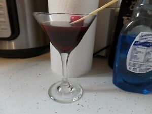 A FAKE CHERRY MARTINI DRINK
