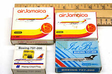 4 pc Schabak 1:600 Air Jamaica Boeing 727 Airbus + Hapag-Lloyd Boeing 727 737