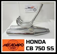 Impianto plant Marmitta Scarico Exhaust muffler cafè racer HONDA CB 750 SS
