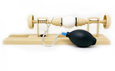 Egg Decorating Kit with One-Hole Egg Blower Pump and Decorating Lathe