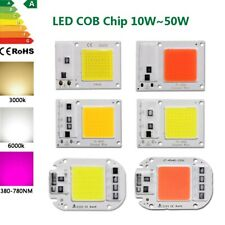 LED Chip COB 10W 20W 30W 50W watt white warm spectrum grow light lamp 110V 220V