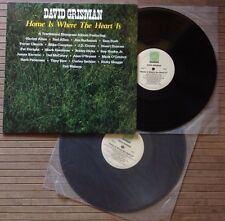 DAVID GRISMAN / HOME IS WHERE THE HEART IS - 2LP (US - 1988) RARE !!! NEAR MINT