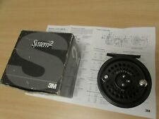 stunning scientific anglers system 2 salmon fly fishing reel 10/11 1011 + box