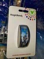 Walt Disney World Cinderella Castle Blue Magic Band 2.0 Magicband Parks Tink