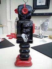 high wheel robot ko yoshiya 1960s original toy robot.wheels spin and robot winds