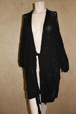 Free People Beach House Brunch Cardigan Black S  _______________________ R22F4