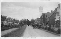POSTCARD    HERTS  LETCHWORTH   STATION  ROAD   Circa  1908      RP