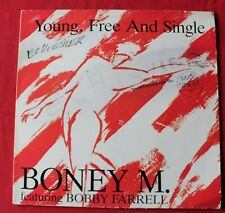 Boney M featuring Bobby Farrell, young, free and single, Maxi Vinyl
