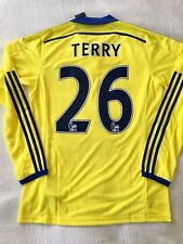 Authentic John Terry Chelsea Player Issue Adizero Away 2014-15 Size M/L ENGLAND