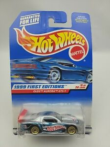 Hot Wheels 1999 First Editions #5/26 Olds Aurora GTS-1 collector #911. A6