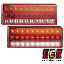 More details for led autolamps 275arw pair large rear light stop tail indicator reverse 12v 24v