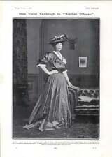 1906 Miss Violet Vanbrugh In Brother Officers Garrick Theatre