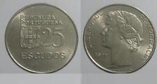 PORTUGAL: 25 escudos 1977 S/C  - Republica Portuguesa