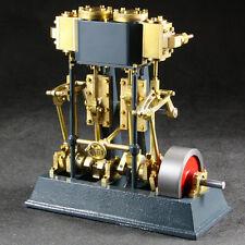 """2 Zylinder Dampfmaschine """"Tobias"""" Materialbausatz"""