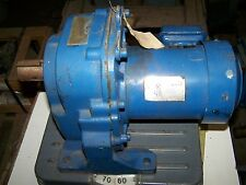 Mitsubishi GM-LJ Geared Motor In-Line Speed Reducer .4 kw, 20 RPM 480V 3 Ph NEW
