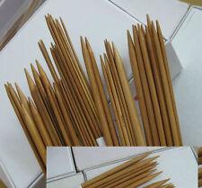 "10"" Double Point Bamboo Knitting Needles, 11 sizes 2mm-10mm, 22 Needles"