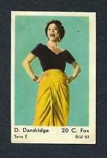 DOROTHY DANDRIDGE 1954 Maple Leaf/ Dutch Gum Card BEAUTIFUL