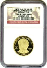 2007-W Martha Washington $10 NGC PR 70 DCAM - First Spouse .999 Gold