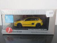J-COLLECTION SUBARU IMPREZA WRX STI 2009 ECH 1/43 ETAT NEUF