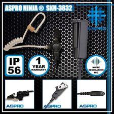 ASPRO NINJA® 2-WIRE SURVEILLANCE KITS EARPIECE MOTOROLA GP380 GP640 GP650 GP680