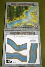 Battlefield in a Box RIVER EXPANSION FORDS painted tabletop terrain 15mm to 28mm