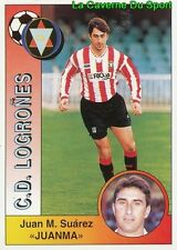 174 JUANMA ESPANA CD.LOGRONES STICKER CROMO LIGA 1995 PANINI