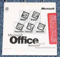 Microsoft Office 95 Professional & Bookshelf Designed For Windows 95 Sealed