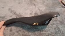 OLD SCHOOL BMX VELO MODEL 247 SEAT SADDLE BLACK FREESTYLE VINTAGE RARE