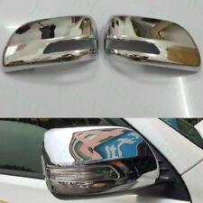 2pcs For Toyota Prado FJ150 2010-13 Car Chrome LH&RH Side Door Mirror Cover Trim