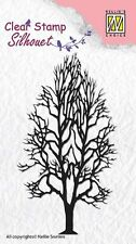 Nellie Snellen Silhouette Clear Stamps-TREE - 2