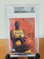 1996-97 UPPER DECK Rookie Exclusives KOBE BRYANT BGS 9 Graded RC #R10 MINT HOT🔥
