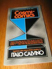 Cosmicomics by Italo Calvino - 1st Harbrace PB ed (1976)