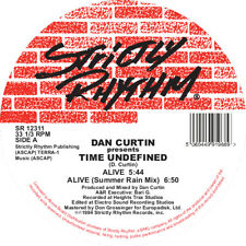 "Dan Curtin Pres. Time Undefined - Alive / Cascade (12 "" Vinyl) Strictly Rhythm"