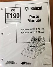 Bobcat T190 Turbo Track Loader Parts Manual Book 6902913