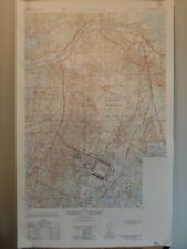 Camp Edwards Special Map -Military - Topo Map - Cape Cod MA - 1:25,000 - Canal
