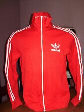VINTAGE 1980's ADIDAS TREFOIL TRACK JACKET large made in Taiwan
