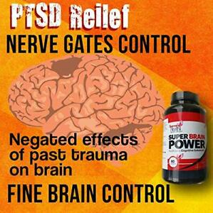 BRAIN BOOSTER SUPPLEMENT CAPSULES MEMORY MENTAL FOCUS ANXIETY PILLS