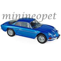 NOREV 185300 1971 RENAULT ALPINE A110 1600S 1/18 DIECAST MODEL CAR METALLIC BLUE