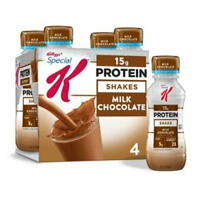 Kellogg's Special K Milk Chocolate Protein shake Meal Replacement 10 oz- 4 count
