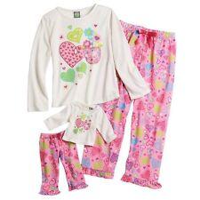 fa68f200a Girls  Polyester Long Sleeve Sleeve Pajama Sleepwear (Sizes 4   Up ...